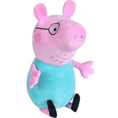 Jucarie de plus Simba Peppa Pig, Papa Wutz 37 cm