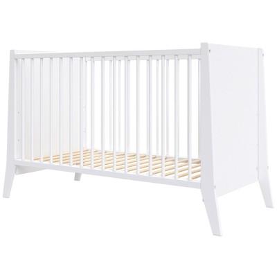 Patut copii din lemn Hubners Cosmo 120x60 cm alb